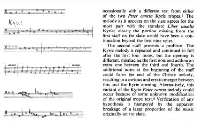 The Wells Musical Slates